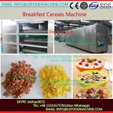 Large Capacity Stainless Steel Corn Flakes Breakfast Cereal make machinery