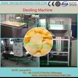 Deoiling machinery for food industry