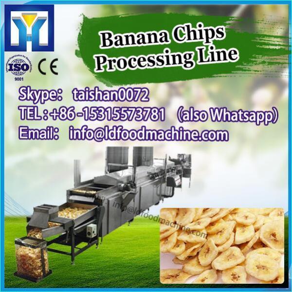 Semi-automatic Fried French Potato CriLDs Chips make machinery #1 image