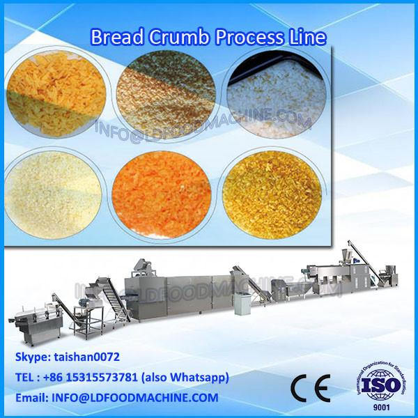 Bread Crumb Grinder Manufacture/150Kg/H Extruded Crumb Equipment/Fish Finger Bread Crumb Coating Machine #1 image