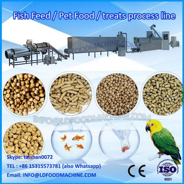 Animal feed pellet machinery/dog food make extruder #1 image