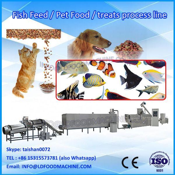 Advanced different shapes 100-500kg/h pet food extruder #1 image