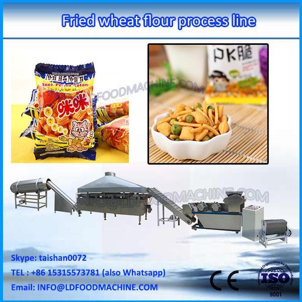 Automatic sale Good taste!!! Fried snack machine / crisp fried snack food production line/Fried Flour Bugles Snack FoodMachine #1 image