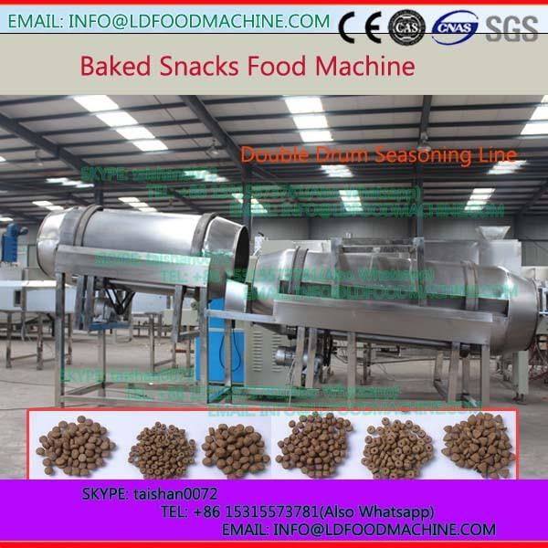 Korea hot sale popcorn machinery ice cream Hollow tube snack corn extruder machinery #1 image