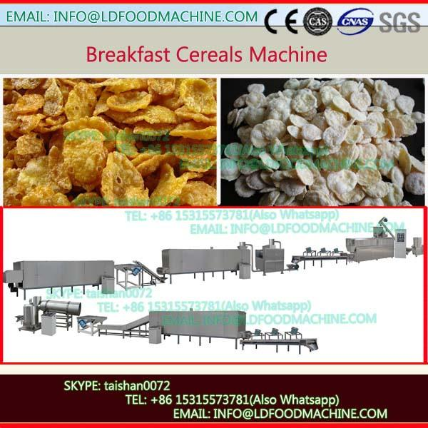 Automatic choco flavoured corn flakes extruder and breakfast cereal manufacturing line #1 image