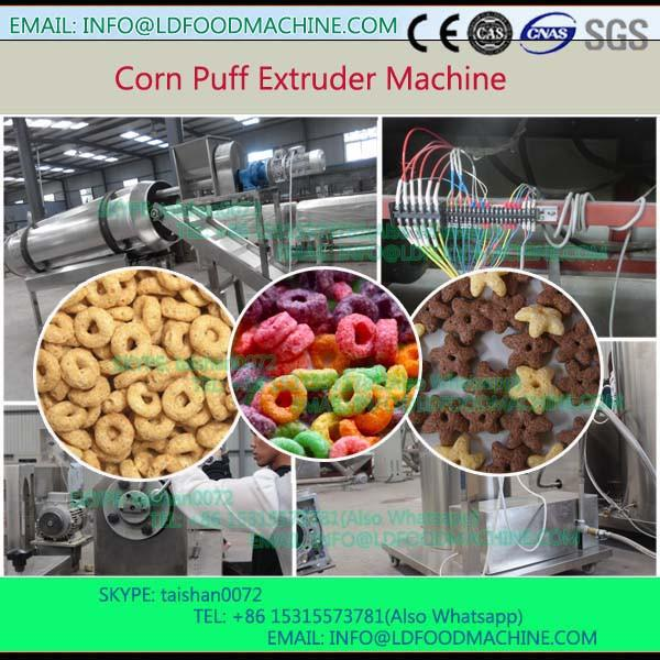 wheat flour puffed snacks foods make production expanding machinery line #1 image