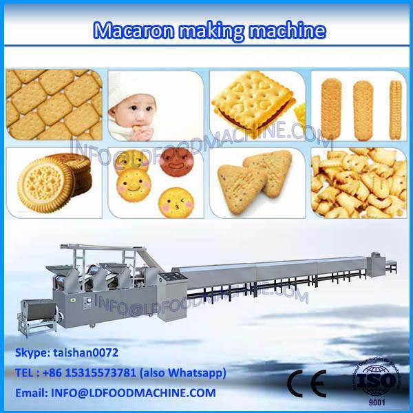 Competitive price macaroni production line ,macaron processing machine ,good quality cookie making machine #1 image