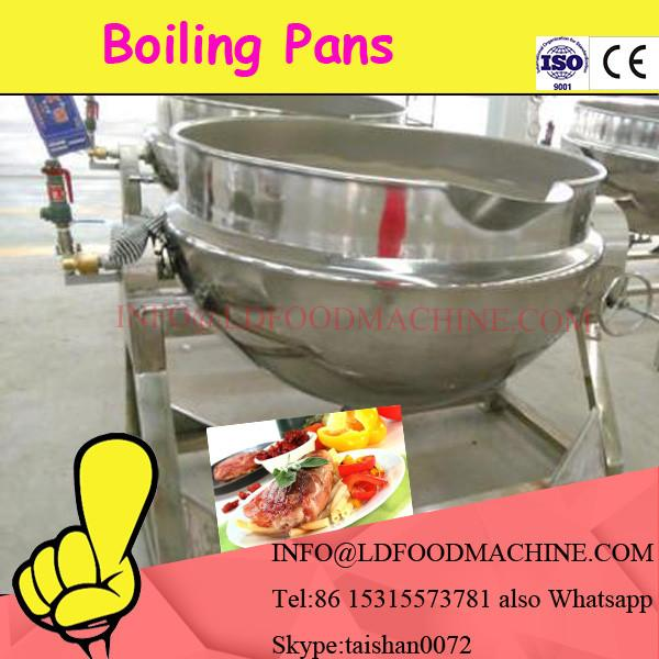L Capacity Electric Oil Gas Jacketed Cook Kettle #1 image