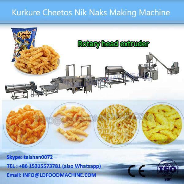 Fried Kurkure  make machinery #1 image